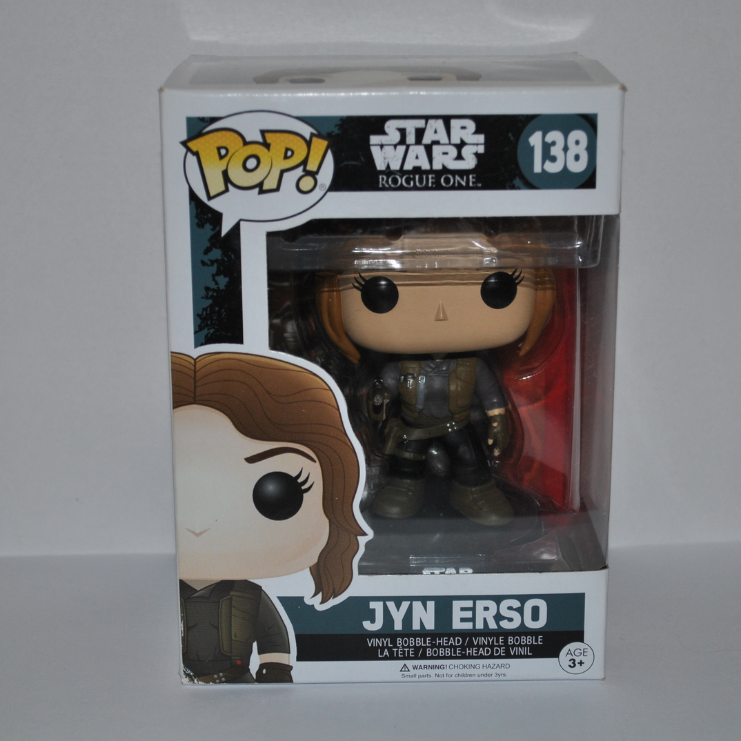 Primary image for Funko Pop! Star Wars Rogue One Vinyl Bobble-Head Jyn Erso #138 (Pack of 1)
