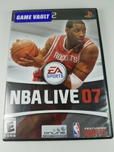 NBA Live 2007 PlayStation 2 PS2 #SLUS 21460 - $8.72