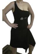 One Shoulder Strap Black Slinky hot, hot, hot, Dress by Ming - $10.00