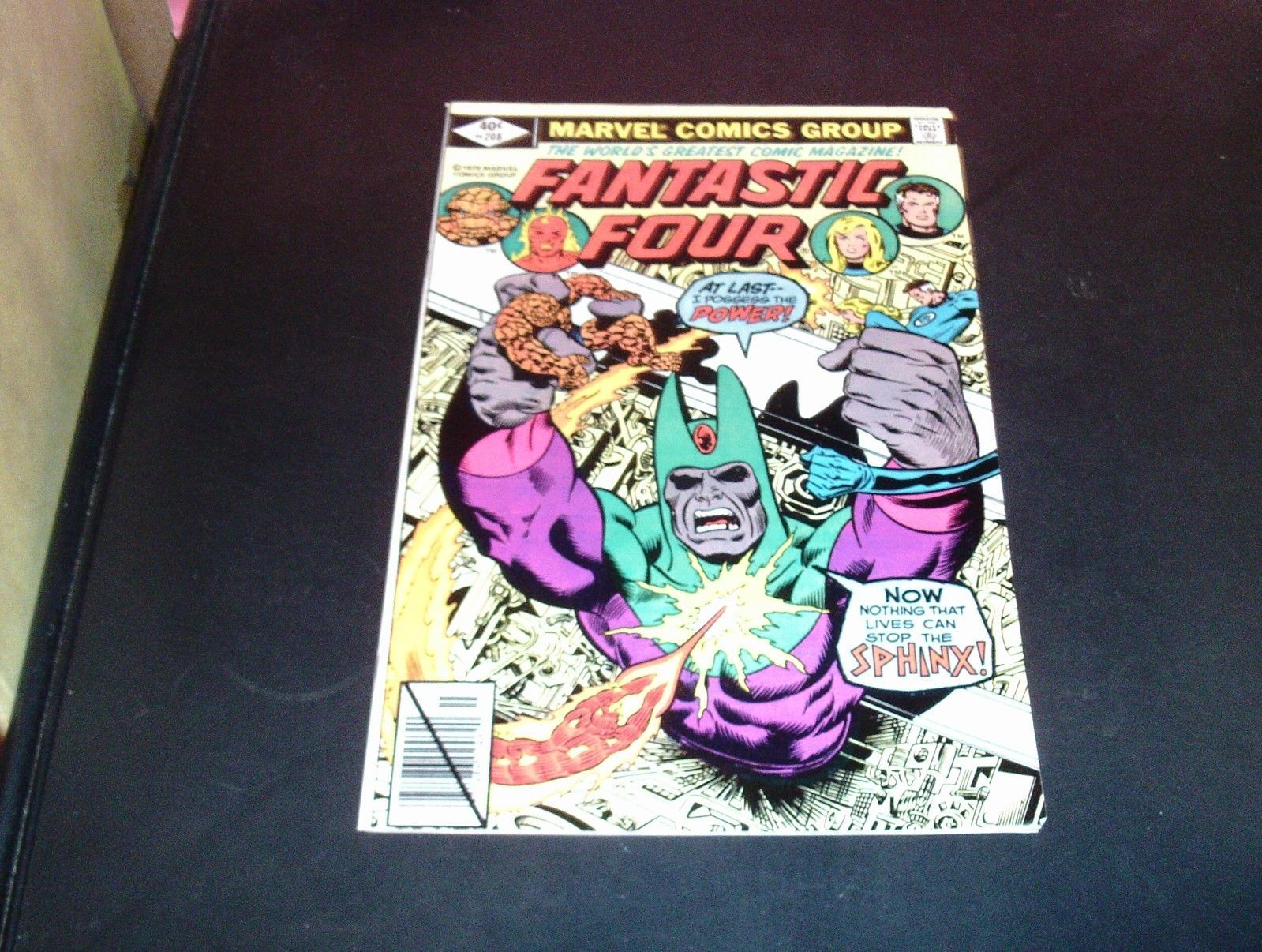 Fantastic Four #208 Marvel Comic Book 1979 NM Condition (9.0) Clean Copy