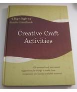 Highlights Junior Handbook Creative Craft Activities 1967 Vintage Book - $6.92