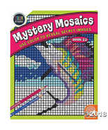 MindWare Color by Number Mystery Mosaics - $9.94