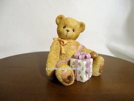 Cherished Teddies Birthday Bear Age 9  1998  Used No Box - $39.55