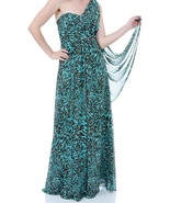 Leopard Printed Maxi Dress - $89.99