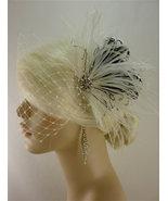 Bridal Feather Fascinator, Bridal Fascinator, Bridal Headpiece, 1920s He... - $75.00