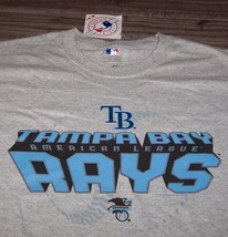 Tampa Bay Devil Rays Mlb Baseball T-Shirt Large New w/ Tag - $19.80