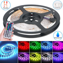 Multi Color 16.4ft RGB Waterproof 3528 SMD 300 LED Flexible Light Strip ... - $94.90