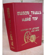 Lacombe Alberta Wagon Trails To Hard Top History Book Genealogy Family Tree - $149.95