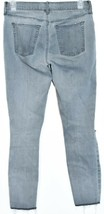 Pacsun Women's Gray Denim Distressed Raw Hem Ankle Jegging Pants Size 26 image 2