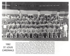 1982 St. Louis Cardinals 8X10 Team Photo Baseball Picture Mlb - $3.95