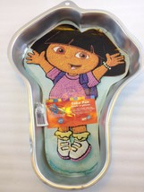 Wilton Dora the Explorer Viacom 2003 Cake Pan Mold Cover Sheet 2105-6300 - $31.85