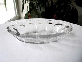 Heisey Colonial Oval Olive Dish Bowl Signed - $7.92