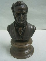 Bronze and wood Statue Figurine bust composer Wagner - $41.73