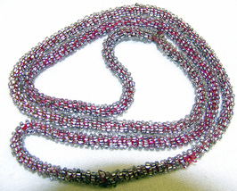 Red beaded necklace1 thumb200