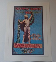 """1932 Olympic Games Poster Print - Call To The Games - Los Angeles CA 16""""... - $17.77"""