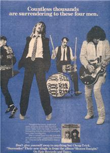 1978 CHEAP TRICK HEAVEN TONIGHT POSTER TYPE AD