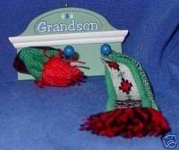 Hallmark Keepsake Ornament Grandson Shelf Hat & Scarf
