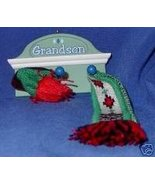 Hallmark Keepsake Ornament Grandson Shelf Hat & Scarf - $15.00