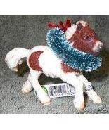 CM Schleich Shetland Pony Foal Horse Christmas Ornament - $18.00