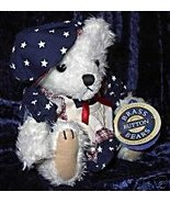 Brass Button Bears Opal Jointed Vintage 1996 Pickford - $24.99