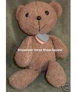 Vintage Shabby Big Headed Brown Teddy Bear Cute Chic - $24.99