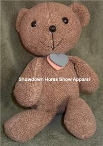 Vintage Shabby Big Headed Brown Teddy Bear Cute Chic