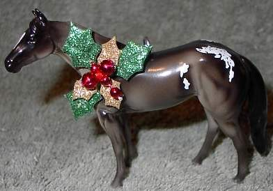 CM Peter Stone Chips Horse Appaloosa Christmas Ornament