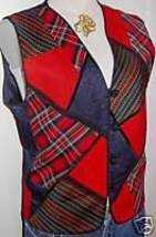 Western Apparel Horse Show Red+ Hobby Vest Plus Size 14 - $38.00