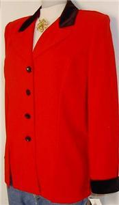 Red Black Western Horse Show Apparel Hobby Jacket 12