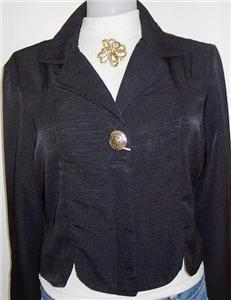 Wrangler Black Western Horse Show Hobby Shirt Jacket L
