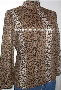 New Leopard Western Horse Show Hobby Apparel Slinky PL