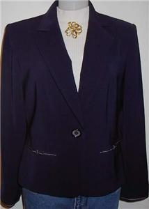 Navy Blue Western Horse Show Hobby Apparel Jacket 8