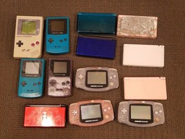 Lot of 13 Broken Nintendo Handheld Console for Parts or Repair DS DSL 3D... - $186.99