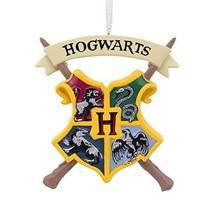 Hallmark Christmas Ornaments, Harry Potter Hogwarts Crest Ornament - £14.22 GBP