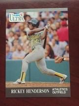 1991 Fleer Ultra - Rickey Henderson #248 - $0.99