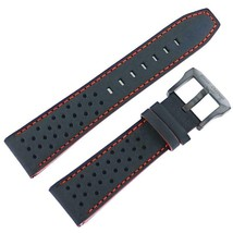 Citizen Man's 23mm Black Genuine Leather Watch Band 59-S52804  - $63.36