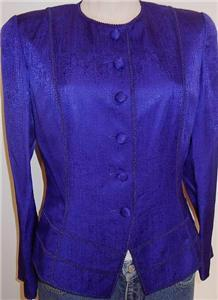 Purple Western Horse Show Hobby Apparel Rail Jacket 6