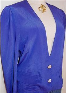 BluePurple Horse Show Hobby Apparel Jacket Plus Size 14
