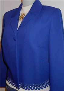 Royal Blue Western Halter Horse Show Apparel Jacket 10