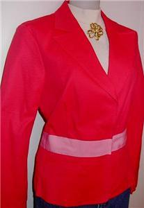 Pink Western Horse Show Hobby Apparel Jacket Plus Size