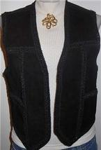 Leather Western Horse Show Hobby Apparel Clothes Vest - $40.00