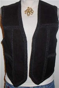 Leather Western Horse Show Hobby Apparel Clothes Vest