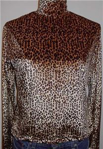 Leopard Western Horse Show Hobby Apparel Clothes Slinky