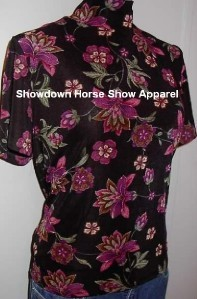 Blk Pink Western Dog Horse Show Hobby Apparel Slinky LG