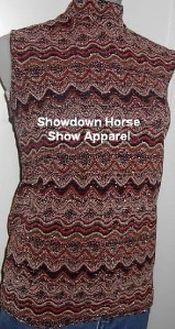 Tan Sparkle Western Horse Show Hobby Slinky Plus Size