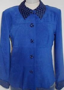 New! Royal Blue Black Horse Show Hobby Halter Jacket 8