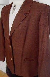 Brown Horse Show Hobby Halter Jacket Plus Size 18P
