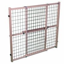"""North States Pet MyPet Extra Wide Wire Mesh Gate fits openings 29.5"""" - 5... - $38.99"""