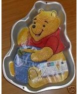 1995 Wilton Pooh Bear with Hunny Honey Pot Cake Pan - $24.99