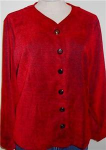 Red Blk Western Rail Halter Horse Show Jacket L Clothes